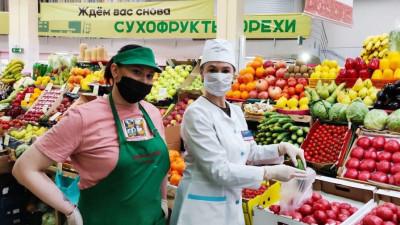 Почти 132 тыс. проб растительной продукции исследовали на рынках Подмосковья с начала года