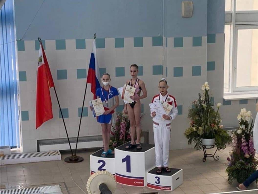 Подмосковная синхронистка завоевала бронзу на первенстве России