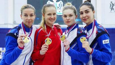 Подмосковные атлеты завоевали 7 медалей на чемпионате России по фехтованию