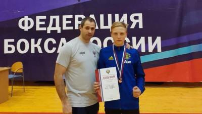 Подмосковные боксеры завоевали серебро и бронзу на юношеском первенстве России