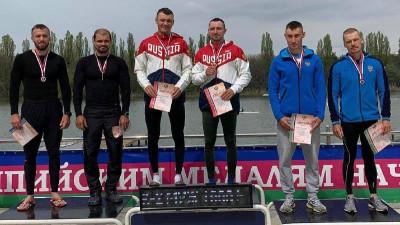 Подмосковные гребцы завоевали две медали на Кубке России