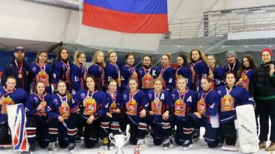 Подмосковные хоккеистки