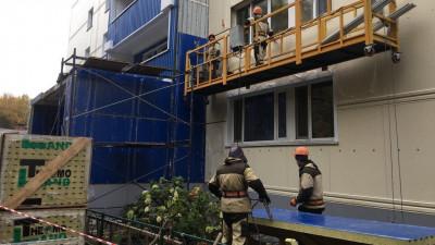 Программу капитального ремонта домов выполнили на треть в Подмосковье