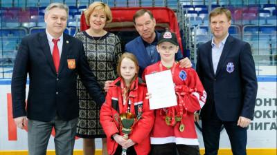 Розыгрыш Кубка олимпийского чемпиона по хоккею Виктора Шалимова прошел в Мытищах