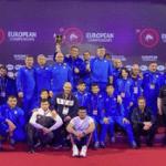 Сборная России по вольной борьбе – первая в общекомандном зачёте Чемпионата Европы
