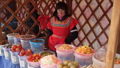 Сезонная тематическая ярмарка «Постный день» началась 12 апреля в Сергиевом Посаде