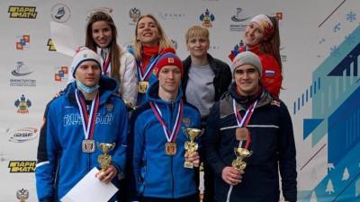 Скелетонисты из Подмосковья завоевали золотую и бронзовую медали на чемпионате России