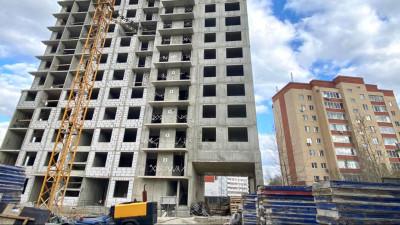 Соблюдение сроков строительства нового жилого дома проверили в Пушкине