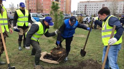 Сотрудники подмосковного Госадмтехнадзора приняли участие в общеобластном субботнике