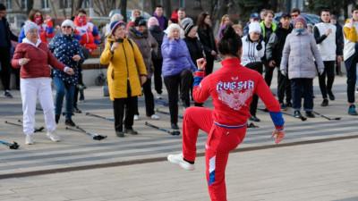 Спортивная акция «10 000 шагов к жизни» прошла в Котельниках