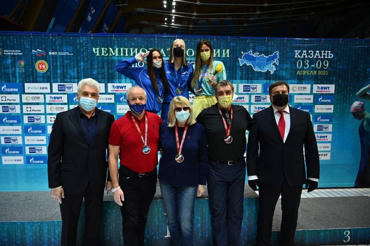 Спортсмены из Подмосковья завоевали 5 медалей на чемпионате России по плаванию