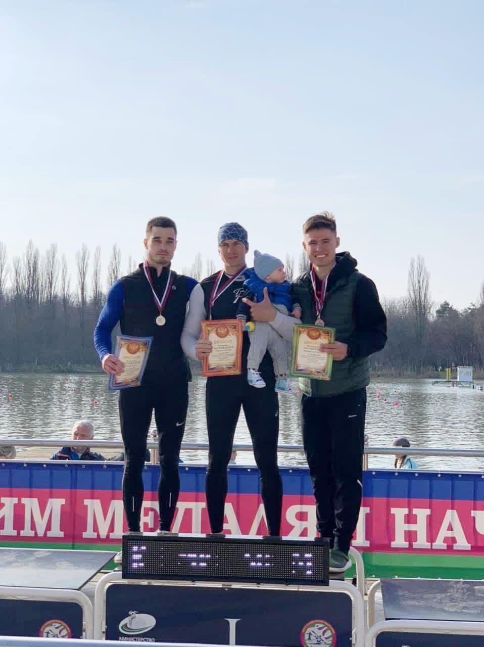 Спортсмены из Подмосковья завоевали две бронзовые и серебряную медаль на чемпионате России по гребле на байдарках и каноэ