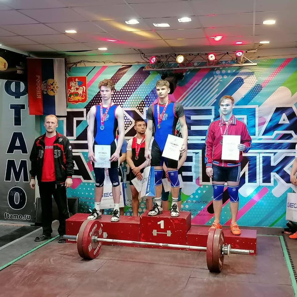 Спортсмены московской областной СШОР завоевали 29 медалей в Первенстве по тяжелой атлетике