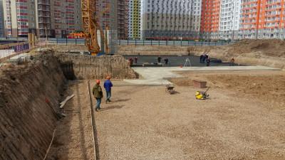 Строительство детского сада продолжается в Красногорске