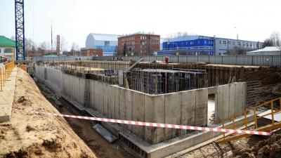 Строительство комплекса Физтех-лицея имени П.Л.Капицы в Долгопрудном ведется по графику
