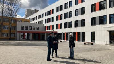 Строительство пристройки к школе №8 завершилось в Балашихе