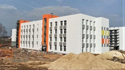 Строительство школы на 825 мест в Наро-Фоминске выполнено на 70 процентов