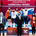 Тяжелоатлетка из Подмосковья завоевала бронзу на чемпионате Европы