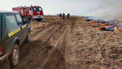 Тринадцать лесных пожаров ликвидировано за прошедшие выходные в Подмосковье