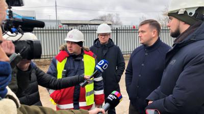 Владимир Локтев проверил ход строительства комплекса на базе Физтех-лицея имени П.Л. Капицы