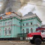 Врачи-герои не испугались пожара
