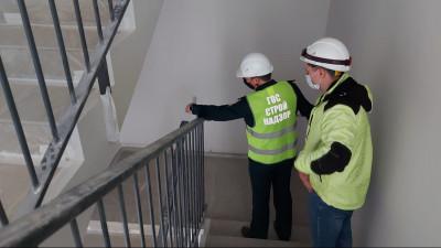 Завершается строительство жилого дома в Ленинском