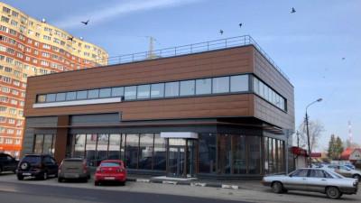 Здание магазина достроено в городском округе Фрязино