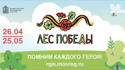 Жителей Московской области пригласили принять участие в акции «Лес Победы»