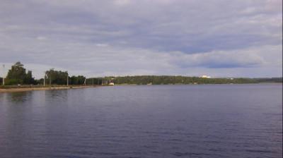 Плотина на озере Сенеж