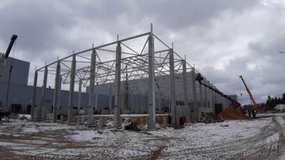 Зону контроля качества целостности упаковки построят в Солнечногорске летом 2021 года