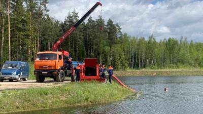 Систему обводнения торфяников подготовили к пожароопасному сезону в Подмосковье