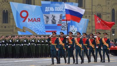 Андрей Воробьев посетил главный военный Парад на Красной площади