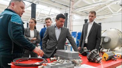 Андрей Воробьев посетил с рабочим визитом городской округ Чехов
