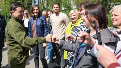 Андрей Воробьев посетил с рабочим визитом городской округ Власиха