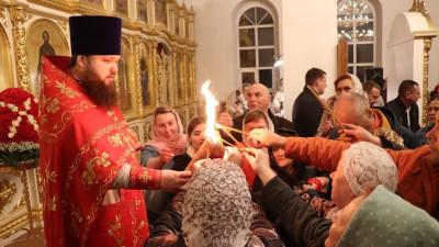 Богослужения в честь Пасхи прошли более чем в тысяче храмов Подмосковья
