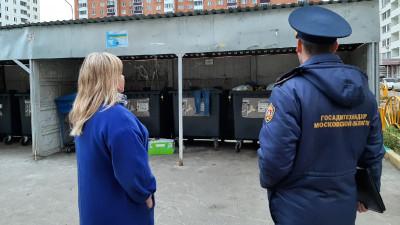 Более 1 тыс. нарушений в содержании контейнерных площадок устранили в Подмосковье за месяц