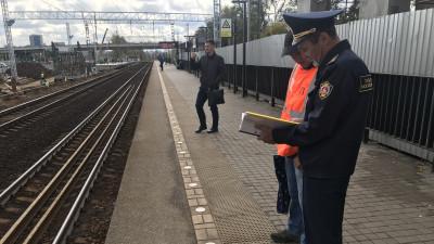 Более 70 нарушений в содержании железнодорожных объектов устранили в Подмосковье