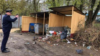 Более тысячи нарушений в содержании контейнерных площадок устранили в Подмосковье