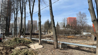 Два аварийных жилых дома снесли в Одинцове