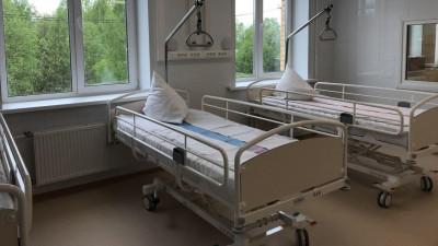 Больница для пациентов с коронавирусом в Никольском
