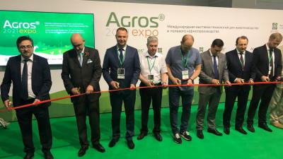 Глава Минсельхозпрода Подмосковья открыл международную выставку «Агрос-2021»