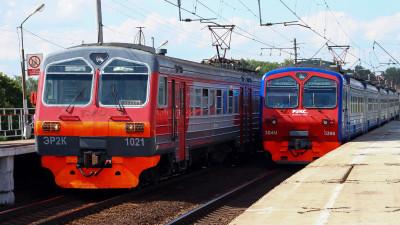 Железнодорожное сообщение в Московской области