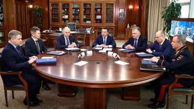 Губернатор провел внеочередное заседание Антитеррористической комиссии