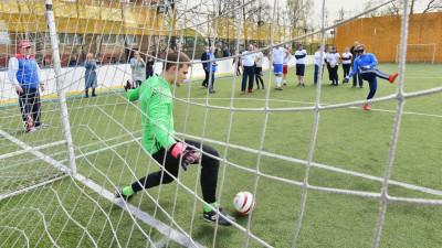 Инклюзивный футбольный матч состоялсяв Раменском