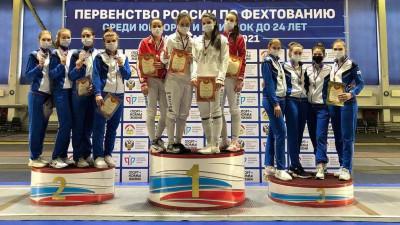 Юниоры из Подмосковья завоевали 9 наград на первенстве России по фехтованию