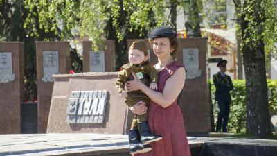 Празднование Дня Победы в Ногинске