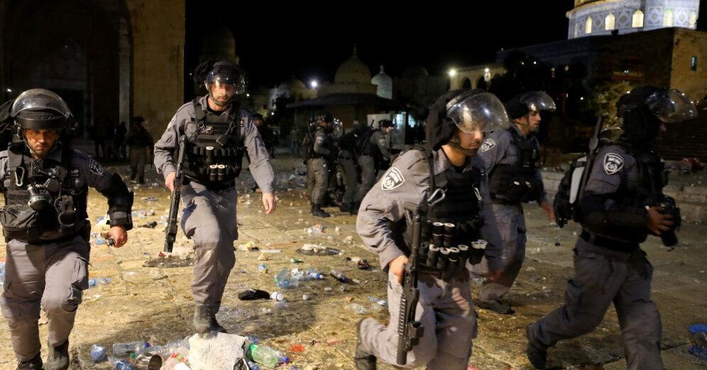 новые сотни пострадавших в беспорядках в израиле