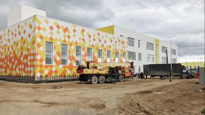 Образовательный центр на 1,1 тыс. мест в Павловском Посаде готов на 52%
