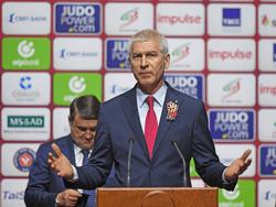 Олег Матыцин принял участие в открытии Международных соревнований по дзюдо «Большой шлем» в Казани