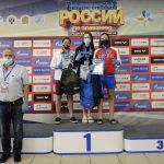 Подмосковная пловчиха завоевала два золота, серебро и бронзу на юниорском первенстве России